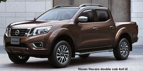 Nissan Navara 2.3D double cab 4x4 LE auto - Image credit: © 2018 duoporta. Generic Image shown.