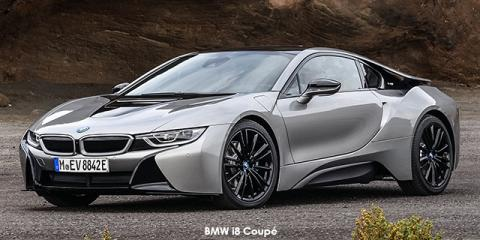 BMW i8 eDrive Coupe - Image credit: © 2018 duoporta. Generic Image shown.