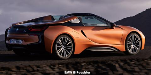 BMW i8 eDrive Roadster - Image credit: © 2020 duoporta. Generic Image shown.
