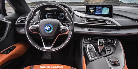 BMW i8 eDrive Roadster - Image credit: © 2018 duoporta. Generic Image shown.