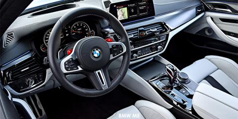 BMW M5 - Image credit: © 2018 duoporta. Generic Image shown.