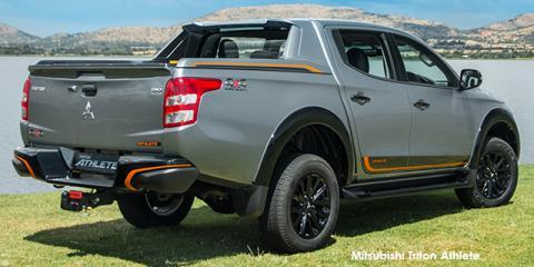 Mitsubishi Triton 2.4DI-D double cab 4x4 Athlete auto - Image credit: © 2019 duoporta. Generic Image shown.