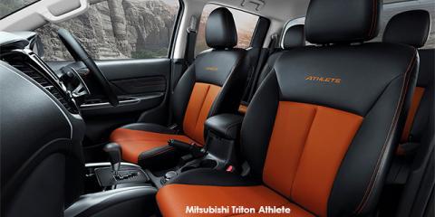 Mitsubishi Triton 2.4DI-D double cab 4x4 Athlete auto - Image credit: © 2018 duoporta. Generic Image shown.