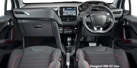 Peugeot 208 1.2T GT Line auto - Image credit: © 2018 duoporta. Generic Image shown.