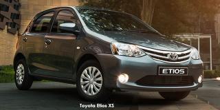 Toyota Etios - Image credit: © 2018 duoporta. Generic Image shown.
