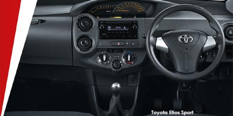 Toyota Etios sedan 1.5 Sprint - Image credit: © 2018 duoporta. Generic Image shown.