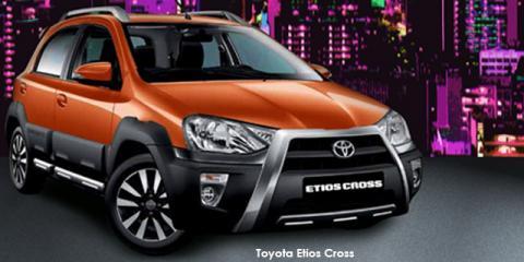 Toyota Etios Cross 1.5 Xs - Image credit: © 2018 duoporta. Generic Image shown.