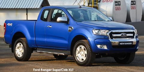 Ford Ranger 3.2 SuperCab 4x4 XLT auto - Image credit: © 2018 duoporta. Generic Image shown.