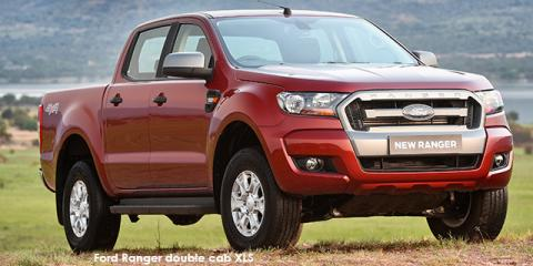 Ford Ranger 2.2 double cab Hi-Rider XL auto - Image credit: © 2018 duoporta. Generic Image shown.