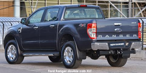 Ford Ranger 2.2 double cab Hi-Rider XLT auto - Image credit: © 2019 duoporta. Generic Image shown.