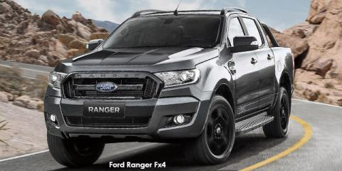 Ford Ranger 3.2 double cab 4x4 XLT Fx4 auto - Image credit: © 2018 duoporta. Generic Image shown.