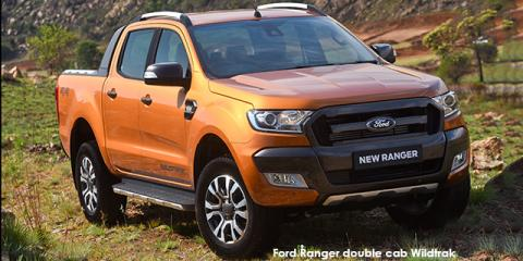 Ford Ranger 3.2 double cab Hi-Rider Wildtrak auto - Image credit: © 2018 duoporta. Generic Image shown.
