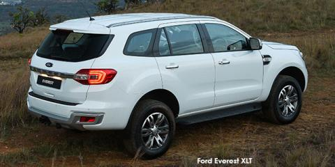 Ford Everest 2.2 XLT auto - Image credit: © 2019 duoporta. Generic Image shown.