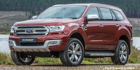 Ford Everest 3.2 4WD Limited - Image credit: © 2018 duoporta. Generic Image shown.