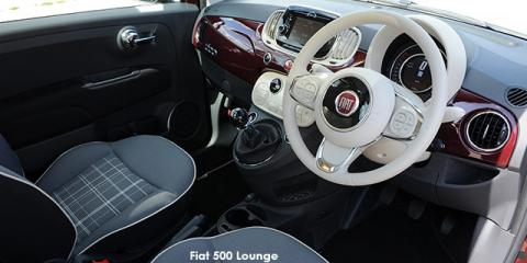 Fiat 500 0.9 TwinAir 63kW Lounge auto - Image credit: © 2018 duoporta. Generic Image shown.