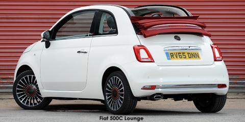 Fiat 500C 0.9 TwinAir 63kW Lounge auto - Image credit: © 2018 duoporta. Generic Image shown.