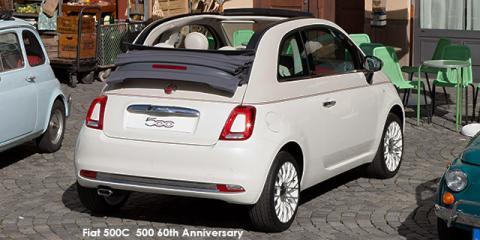 Fiat 500C TwinAir 500 60th Anniversary auto - Image credit: © 2018 duoporta. Generic Image shown.