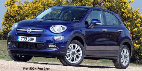 Fiat 500X 1.4T Pop Star auto - Image credit: © 2020 duoporta. Generic Image shown.