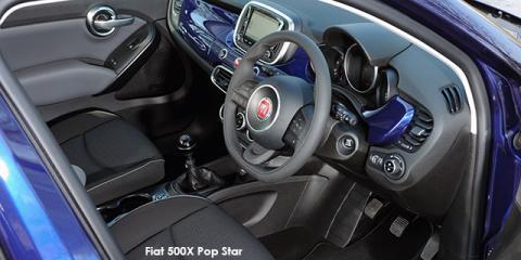 Fiat 500X 1.4T Pop Star auto - Image credit: © 2018 duoporta. Generic Image shown.