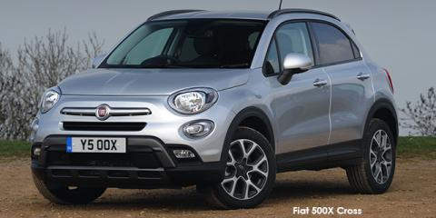 Fiat 500X 1.4T Cross auto - Image credit: © 2019 duoporta. Generic Image shown.