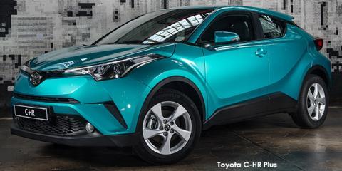 Toyota C-HR 1.2T - Image credit: © 2018 duoporta. Generic Image shown.