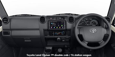 Toyota Land Cruiser 79 4.5D-4D LX V8 double cab - Image credit: © 2018 duoporta. Generic Image shown.