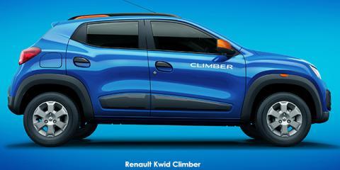 Renault Kwid 1.0 Climber - Image credit: © 2018 duoporta. Generic Image shown.