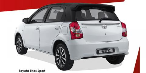 Toyota Etios hatch 1.5 Sport - Image credit: © 2018 duoporta. Generic Image shown.