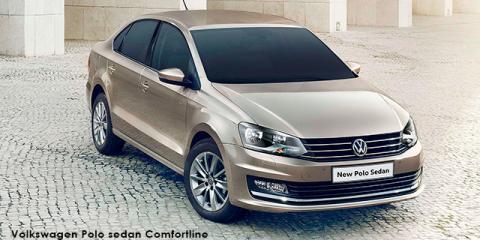 Volkswagen Polo sedan 1.6 Trendline - Image credit: © 2018 duoporta. Generic Image shown.