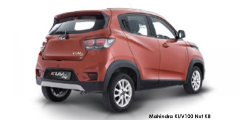 Mahindra KUV100 Nxt 1.2 G80 K8 - Image credit: © 2019 duoporta. Generic Image shown.