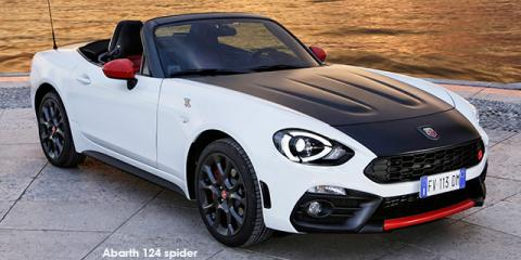 Abarth 124 spider - Image credit: © 2019 duoporta. Generic Image shown.