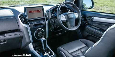 Isuzu mu-X 3.0 4WD - Image credit: © 2018 duoporta. Generic Image shown.
