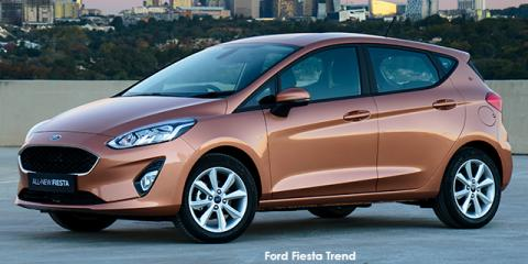 Ford Fiesta 1.0T Trend - Image credit: © 2020 duoporta. Generic Image shown.