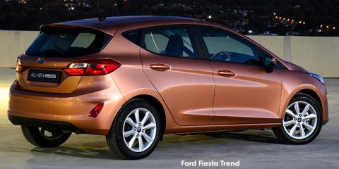 Ford Fiesta 1.0T Trend auto - Image credit: © 2021 duoporta. Generic Image shown.