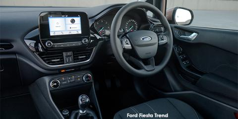 Ford Fiesta 1.0T Trend auto - Image credit: © 2018 duoporta. Generic Image shown.