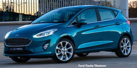 Ford Fiesta 1.0T Titanium auto - Image credit: © 2018 duoporta. Generic Image shown.