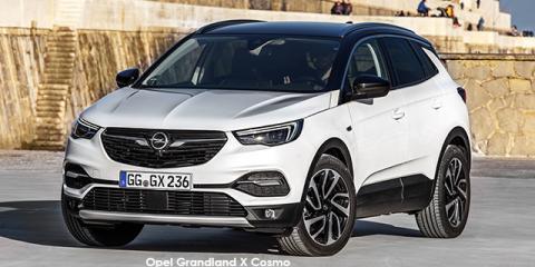 Opel Grandland X 1.6 Turbo - Image credit: © 2018 duoporta. Generic Image shown.