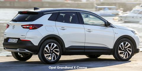 Opel Grandland X 1.6 Turbo Cosmo - Image credit: © 2018 duoporta. Generic Image shown.