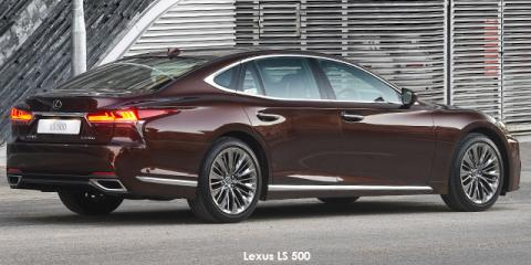 Lexus LS 500 - Image credit: © 2018 duoporta. Generic Image shown.