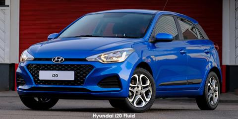 Hyundai i20 1.4 Fluid auto - Image credit: © 2021 duoporta. Generic Image shown.