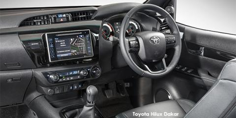 Toyota Hilux 2.8GD-6 Xtra cab Raider Dakar - Image credit: © 2018 duoporta. Generic Image shown.