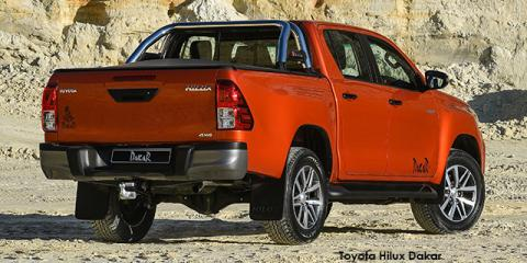 Toyota Hilux 2.8GD-6 double cab Raider Dakar auto - Image credit: © 2018 duoporta. Generic Image shown.