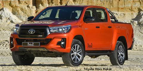 Toyota Hilux 2.8GD-6 double cab 4x4 Raider Dakar auto - Image credit: © 2018 duoporta. Generic Image shown.