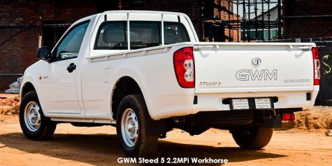 GWM Steed 5 2.2MPi Workhorse safety - Image credit: © 2018 duoporta. Generic Image shown.