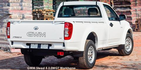 GWM Steed 5 2.0WGT 4x4 Workhorse - Image credit: © 2019 duoporta. Generic Image shown.