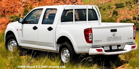 GWM Steed 5 2.2MPi double cab SX - Image credit: © 2018 duoporta. Generic Image shown.