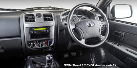 GWM Steed 5 2.0VGT double cab 4x4 SX - Image credit: © 2019 duoporta. Generic Image shown.