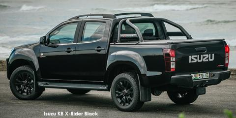 Isuzu KB 250D-Teq double cab X-Rider Black - Image credit: © 2018 duoporta. Generic Image shown.