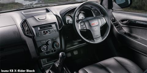 Isuzu KB 250D-Teq double cab X-Rider Black - Image credit: © 2018 duoporta. Generic Image shown.
