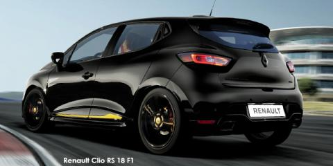 Renault Clio RS 18 F1 - Image credit: © 2018 duoporta. Generic Image shown.